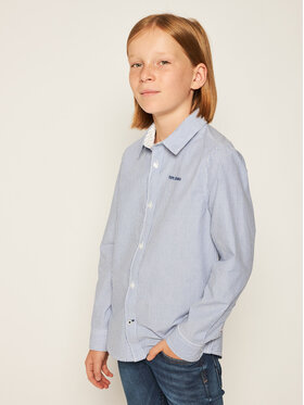 Pepe Jeans Pepe Jeans Риза PB301730 Син Regular Fit