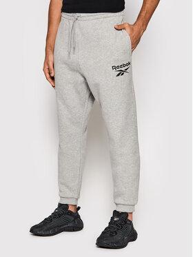 Reebok Reebok Pantalon jogging Identity Vector GS1597 Gris Regular Fit