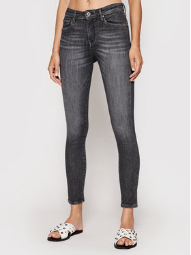 Pepe Jeans Pepe Jeans Traperice Zoe PL203616 Crna Skinny Fit