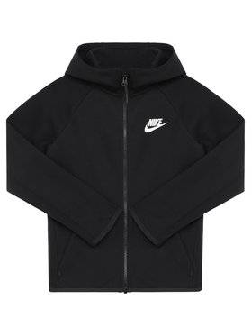 Nike Nike Bluza Nsw Tech Junior AR4020 Czarny Standard Fit