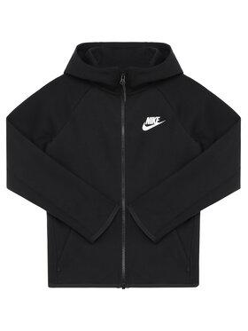 Nike Nike Mikina Nsw Tech Junior AR4020 Černá Standard Fit