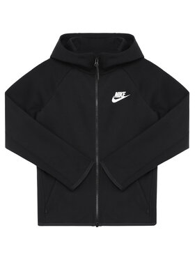 NIKE NIKE Sweatshirt Nsw Tech Junior AR4020 Schwarz Standard Fit
