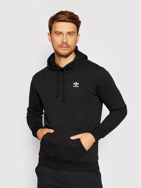 adidas adidas Bluză adicolor Essentials Trefoil H34652 Negru Regular Fit