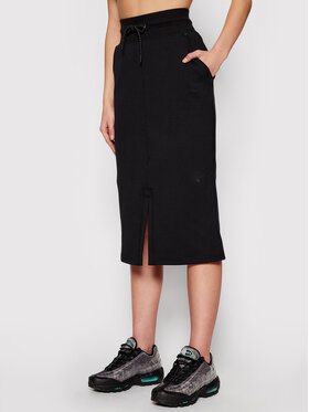 Nike Nike Спідниця-міді Sportswear Tech CZ8918 Чорний Standard Fit
