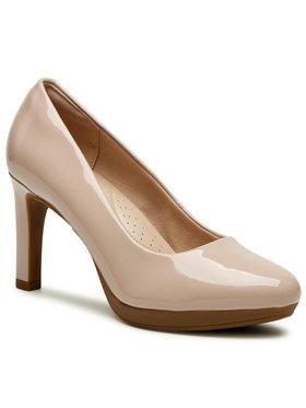 Clarks Clarks Pantofi Ambyr Joy 261577064 Roz
