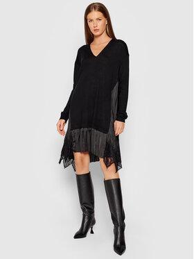 TWINSET TWINSET Každodenní šaty 212TP3281 Černá Regular Fit