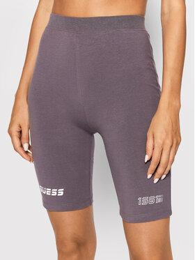 Guess Guess Sportiniai šortai Allison O1BA07 KASI1 Pilka Slim Fit