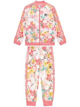 adidas adidas Dres Her Studio London Floral SST Set GN4210 Różowy Regular Fit