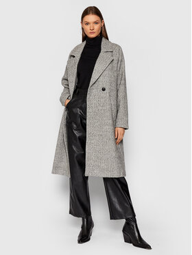 Vero Moda Vero Moda Παλτό χειμωνιάτικο Jaida 10250985 Γκρι Regular Fit