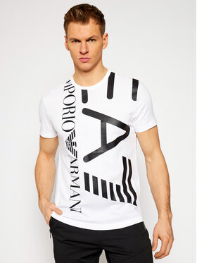 EA7 Emporio Armani EA7 Emporio Armani T-shirt EA7 EMPORIO ARMANI 3KPT07 PJA2Z 1100 Bianco Regular Fit