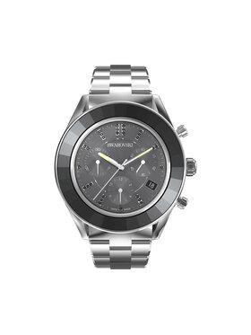 Swarovski Swarovski Часовник Octea Lux Sport 5610520 Сребрист