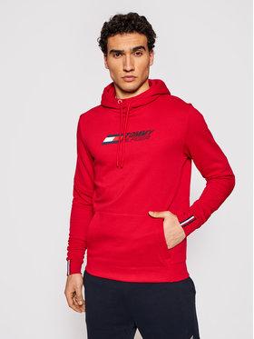 Tommy Hilfiger Tommy Hilfiger Sweatshirt Logo MW0MW17255 Rot Relaxed Fit