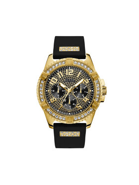 Guess Guess Ρολόι Frontier W1132G1 Μαύρο