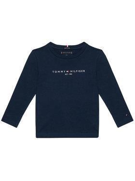 TOMMY HILFIGER TOMMY HILFIGER Bluză Essential Tee KB0KB06105 M Bleumarin Regular Fit