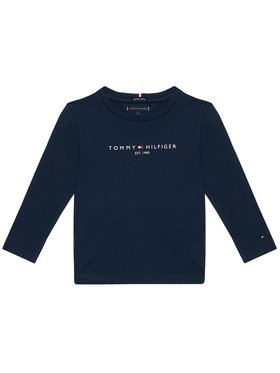 TOMMY HILFIGER TOMMY HILFIGER Halenka Essential Tee KB0KB06105 M Tmavomodrá Regular Fit