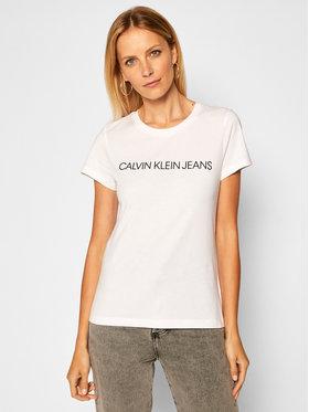 Calvin Klein Jeans Calvin Klein Jeans Σετ 2 T-Shirts J20J215777 Λευκό Slim Fit