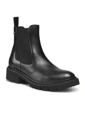 Eva Minge Eva Minge Kotníková obuv s elastickým prvkem EM-21-10-001296 Černá
