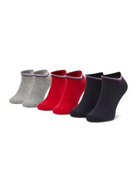 Pepe Jeans Pepe Jeans Sada 3 párů nízkých ponožek unisex Bluebell PLU10521 Barevná