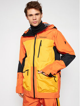 Peak Performance Peak Performance Outdoor-Jacke Vertical Pro Ski G68287005 Orange Regular Fit
