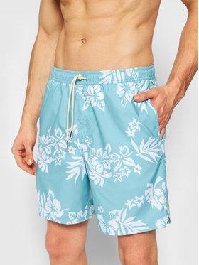 """Quiksilver Quiksilver Szorty kąpielowe Floral Feelings 18"""" EQMJV03059 Niebieski Regular Fit"""