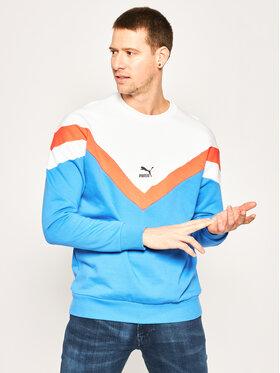 Puma Puma Sweatshirt Iconic Mcs Crew Ft 596442 Blau Regular Fit