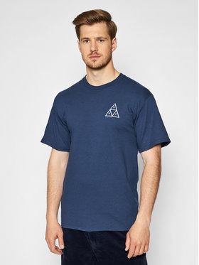 HUF HUF T-Shirt Essentials TS00509 Granatowy Regular Fit