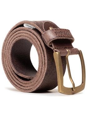 Pepe Jeans Pepe Jeans Pánský pásek Maple Belt PM020977 Hnědá