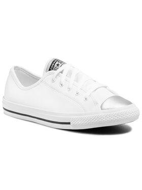 Converse Converse Sneakers aus Stoff Ctas Danity Ox 570326C Weiß