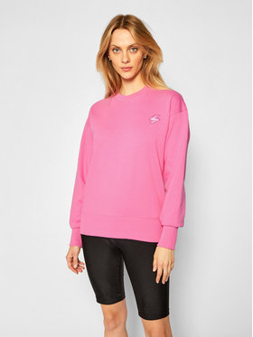 Superdry Superdry Bluza Collective Crew W2010332A Różowy Regular Fit