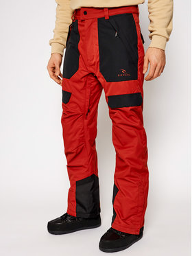 Rip Curl Rip Curl Snowboardové kalhoty Rocker SCPCN4 Oranžová Relaxed Fit