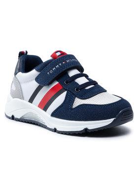 Tommy Hilfiger Tommy Hilfiger Sneakersy Low Cut Velcro Sneaker T1B4-31090-0768 Biały
