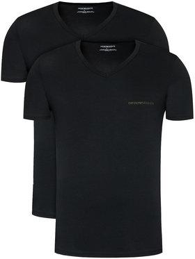 Emporio Armani Underwear Emporio Armani Underwear 2-dílná sada T-shirts 111849 0A717 17020 Černá Regular Fit