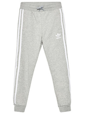adidas adidas Долнище анцуг Trefoil 3-Stripes GD2705 Сив Regular Fit