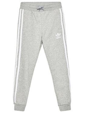adidas adidas Παντελόνι φόρμας Trefoil 3-Stripes GD2705 Γκρι Regular Fit