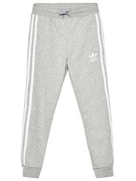 adidas adidas Spodnie dresowe Trefoil 3-Stripes GD2705 Szary Regular Fit