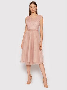 Rinascimento Rinascimento Sukienka koktajlowa CFC0104679003 Różowy Regular Fit