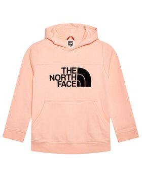 The North Face The North Face Majica dugih rukava Drew Peak Hoody NF0A492SK471 Ružičasta Regular Fit