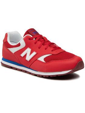 New Balance New Balance Sneakersy YC393BBP Czerwony