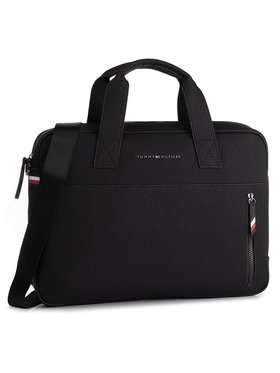 TOMMY HILFIGER TOMMY HILFIGER Taška na laptop Essential Computer Bag AM0AM05226 Čierna