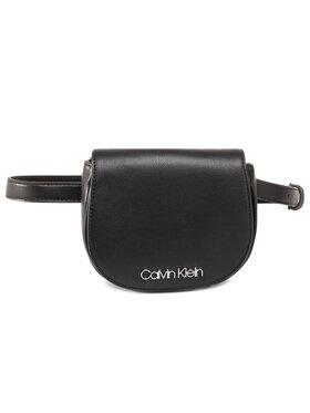 Calvin Klein Calvin Klein Ledvinka Ck Chain Belt Bag K60K606687 Černá