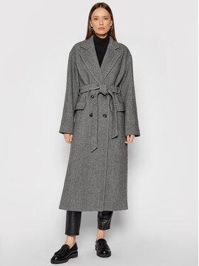 Pinko Pinko Žieminis paltas Giacomo 1G16RV Y7DY Pilka Regular Fit