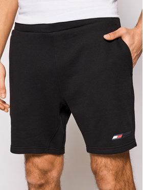 Tommy Hilfiger Tommy Hilfiger Szorty sportowe Logo MW0MW17234 Czarny Regular Fit
