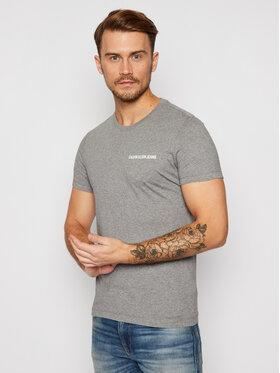 Calvin Klein Jeans Calvin Klein Jeans T-shirt Institutional J30J307852 Grigio Slim Fit
