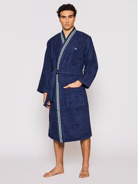 Lacoste Lacoste Robe de chambre Lclub Bleu marine