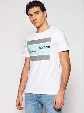Jack&Jones Jack&Jones T-shirt Booster 12188601 Bijela Slim Fit