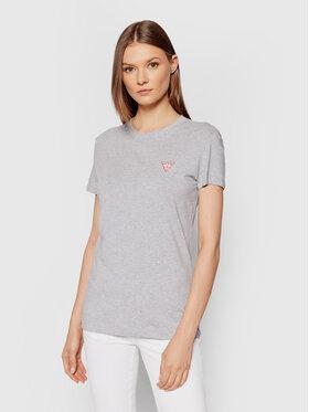 Guess Guess T-Shirt Mini Triangle W1YI0Z J1311 Szary Slim Fit