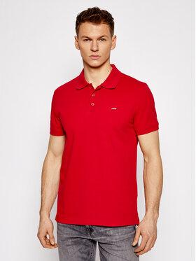 Levi's® Levi's® Tricou polo Standard Housemarked 35883-0006 Roșu Regular Fit
