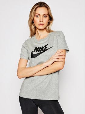 Nike Nike T-Shirt Sportswear Essential Šedá Standard Fit