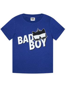 KARL LAGERFELD KARL LAGERFELD T-shirt Z25275 M Bleu Regular Fit