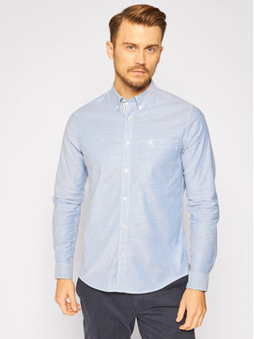Calvin Klein Jeans Calvin Klein Jeans Camicia J30J315669 Blu Slim Fit